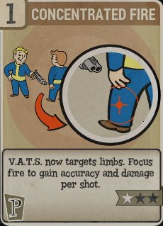 Concentrated Fire Perk Card
