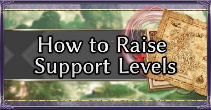 How to Raise Support Levels