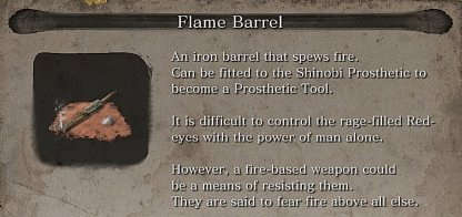 Flame Barrel Required To Craft