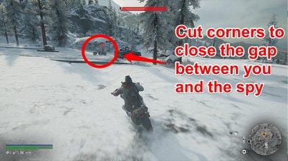 Cut The Spy Off Corners