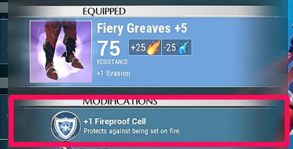 Equip Fireproof If You Have No Molten
