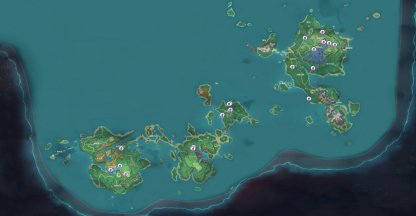 Collect 3 Onikabuto - Locations