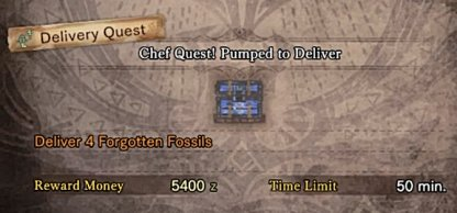 Complete Chef Quest Pumped to Deliver