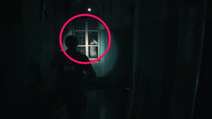 Resident Evil 2 Demo Zombie At End of Hallway