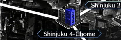 Shinjuku 4-Chome map