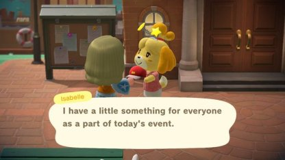 Get A Free Flower Blooper From Isabelle