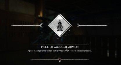 Mongol Armor