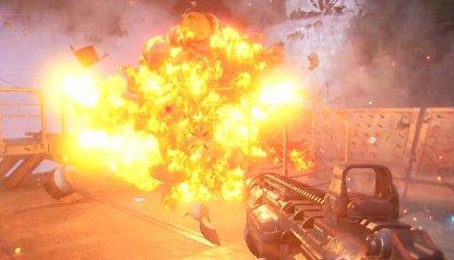 Shoot Explosive Barrels Near Foes