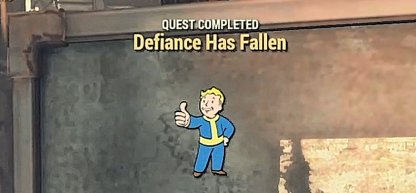 Fallout 76, Defiance Has Fallen - Quest Walkthrough