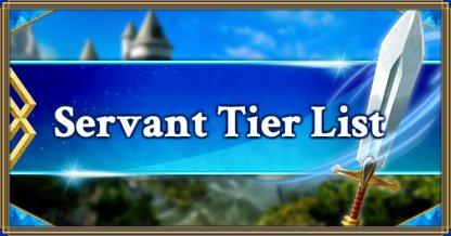 Servant Tier List Banner