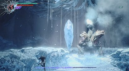 Falling Ice Attack