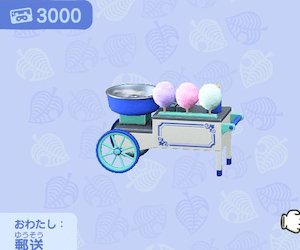 Cottoncandy stall