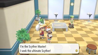 Scyther Master Trainer