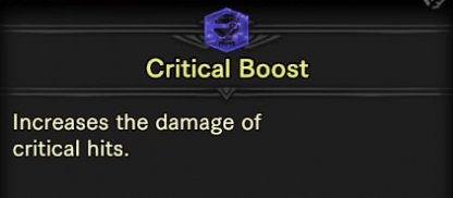 Increases Damage Of Critical Hits