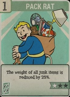 Pack Rat Perk Card