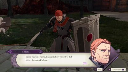 The Battle of Garreg Mach (Edelgard) Battle Guide Tips -Gilbert reteats