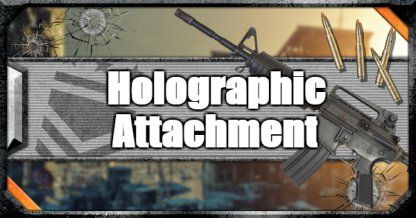 Call of Duty Black Ops IV Weapon Attachments Holographic