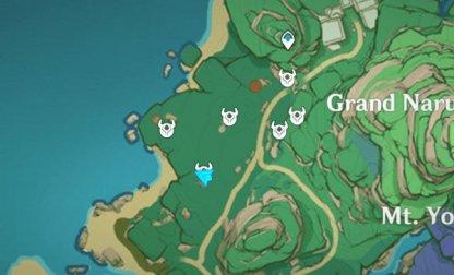 Treasure Area 3 - Iron Coin Locations