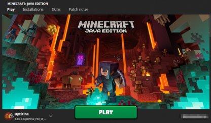 Minecraft with OptiFine