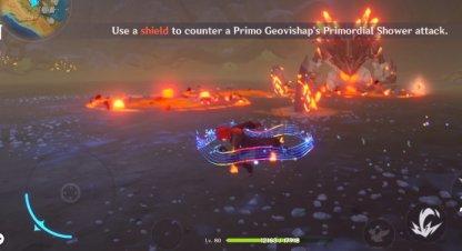 Use A Shield To Counter Primo Geovishap