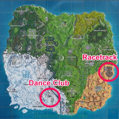 Chests & Ammo Boxes Locations