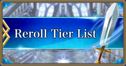 Reroll Tier List Banner