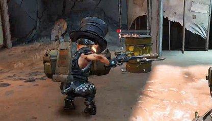 Shoot Barrel Near Under Taker