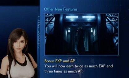 Bonus EXP and AP