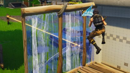 Use Wall or Stair As Shield