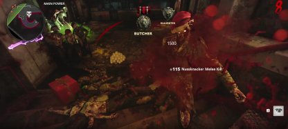 Melee Weapons in Zombies