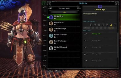 Bow Loadout For Stamina Strengthening