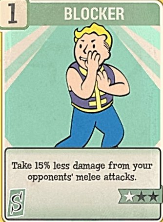 Fallout 76 Perk Card Blocker