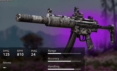 Far Cry New Dawn Optimized MP5SD