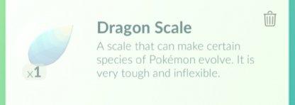 Pokemon Go, Dragon Scale