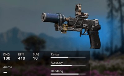 Far Cry New Dawn Makeshift P226
