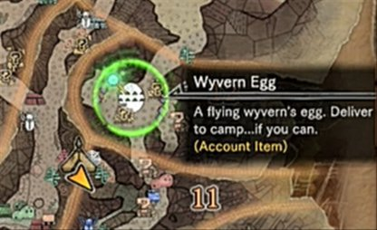 Acquire Camp Locations Near Eggs