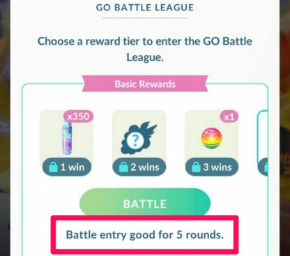 Play First 5 Battles Without Pass Or Walking