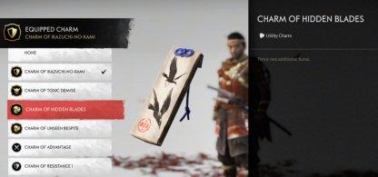 Charm Of Hidden Blades