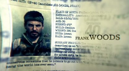 Frank Woods From Black Ops Leaked?
