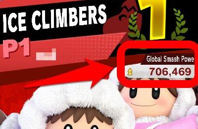 Super Smash Bros. Ultimate, How To Improve Global Smash Power