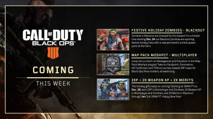Double XP (2XP) Weekend Event Dates (Updated Dec. 25)