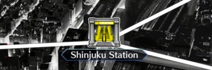 Shinjuku Station map