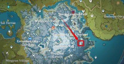 Great Snowboar Spawn Location