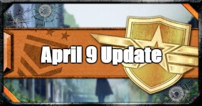 April 9 Update