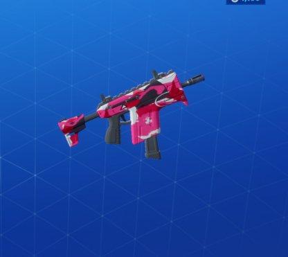 CUDDLE CAMO Wrap - Submachine Gun