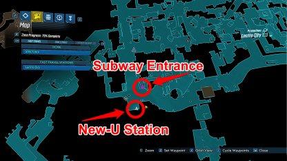 New-U Station Location