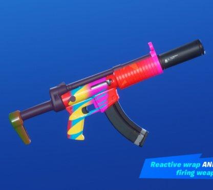 CARNAVAL CONFETTI Wrap - Submachine Gun