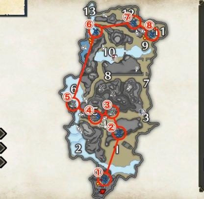 Shrine Ruins Farm Route