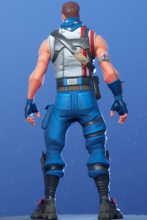 STAR-SPANGLED TROOPER Back