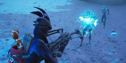 Fortnite Ice Storm Challenge Deal Damage to the Ice Legion in a Single Match